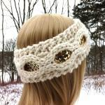Flapper Girl Sequin Headband Earwar..